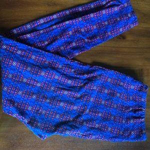 LuLaRoe TC leggings GUC